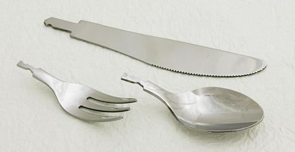 プレス加工、スプーン、フォーク、ナイフ